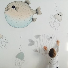 DIY Mini Rodini Inspired Fishes